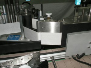 Wrap Label Dispensing