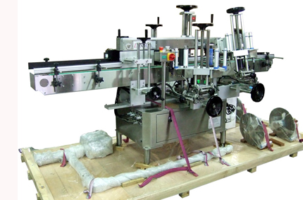 flat sided juice labeler