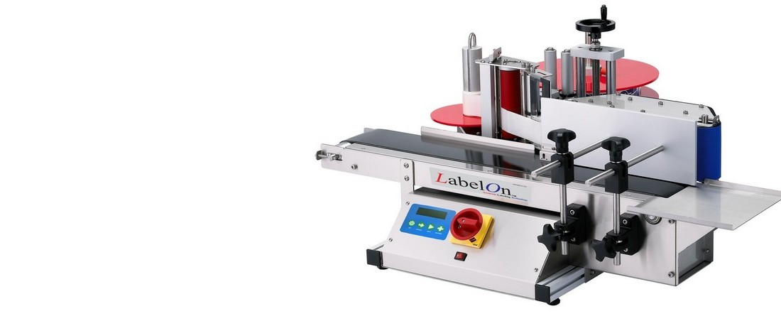 Compact labeling machines